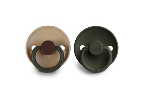 Frigg Frigg T1 -  2Pack Silicone Acorn/ Olive