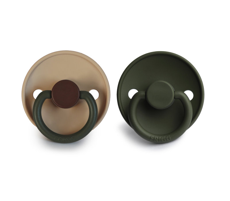 Frigg T1 -  2Pack Silicone Acorn/ Olive
