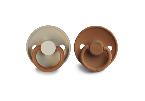 Frigg Frigg T1 -  2Pack Silicone Desert/ Cappuccino