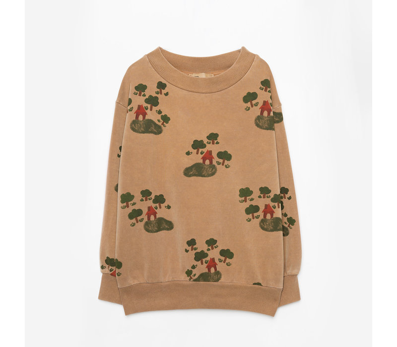 Weekend House Kids - House sweatshirt Camel