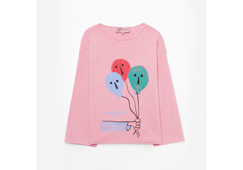 Weekend house kids Weekend House Kids - Balloon pink sweatshirt