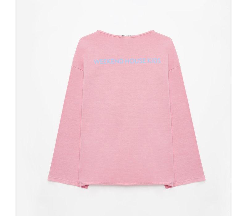 Weekend House Kids - Balloon pink sweatshirt