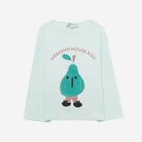 Weekend House Kids - Pear sweatshirt Pastel Green