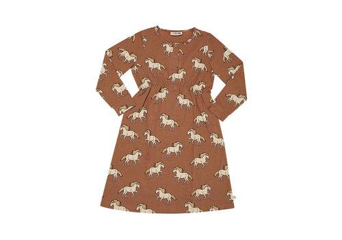 Carlijn Q CarlijnQ - Wild horse 2 button dress - maat 86/92