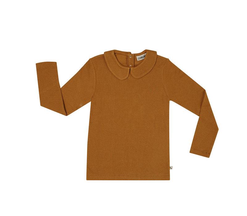 CarlijnQ - Basics chipmunk collar longsleeve ribbed