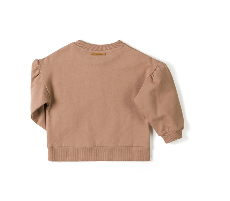 Nixnut - Lux sweater rose