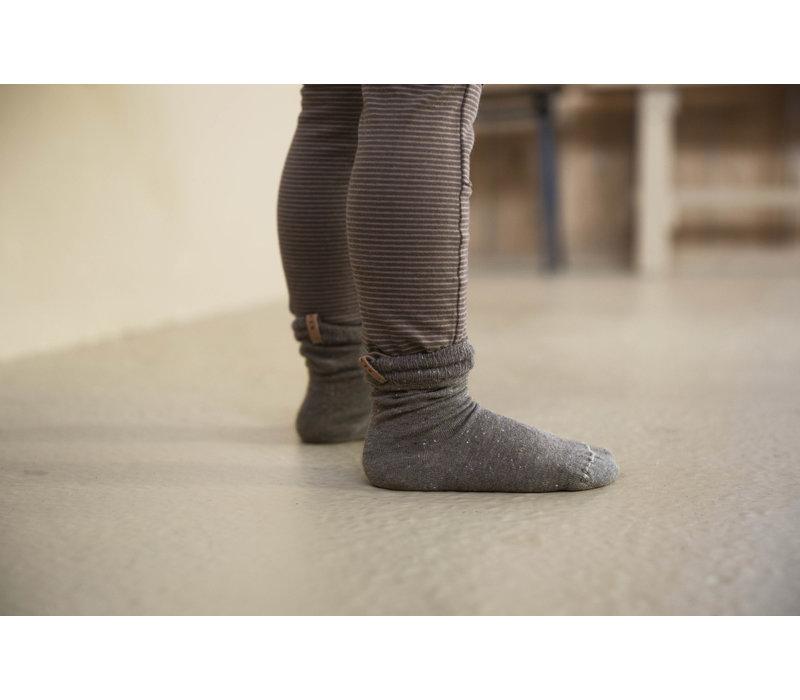 Nixnut - Tight legging stripe toffee