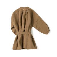 Nixnut - Cord dress toffee