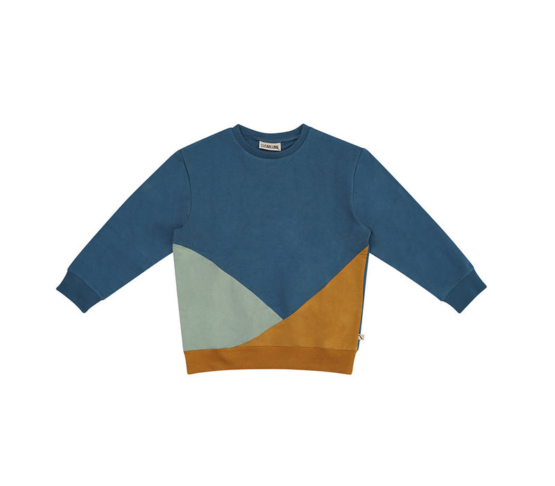 CarlijnQ - Compass sweater color block COM032