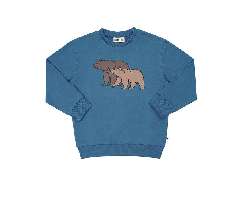 CarlijnQ - Grizzly sweater wt print GRI077