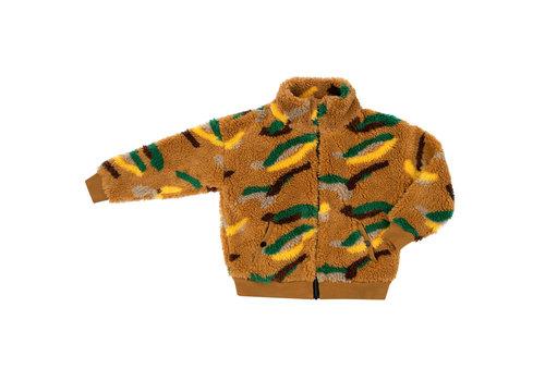 Carlijn Q CarlijnQ - Mountain air teddy cardigan wt zipper & pocket