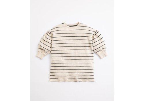 Play Up Play up - Striped Jersey Dress - Home r264w PA04/4AJ11452