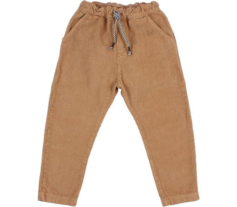 Buho - Corduroy pants muscade