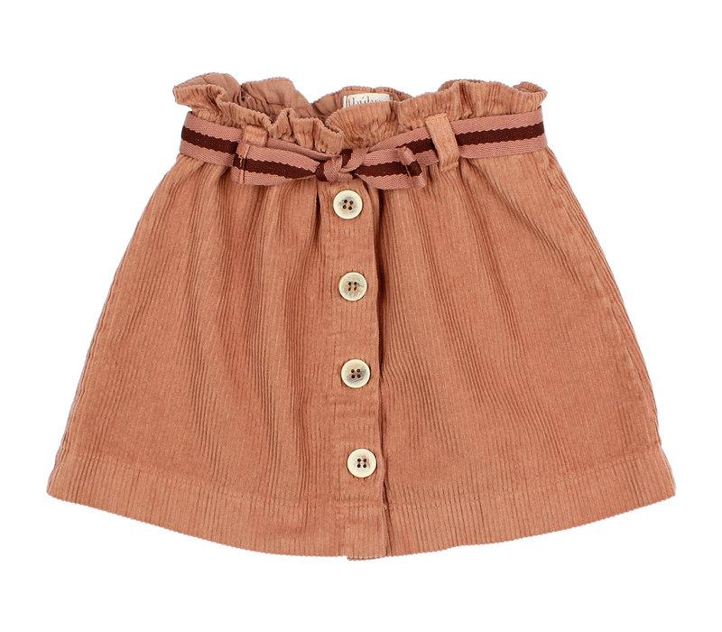 Buho - Corduroy skirt hazel