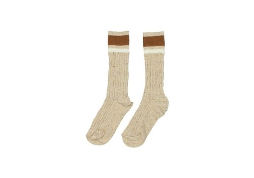 Buho Buho - Rib band socks natural