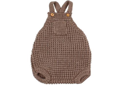 Buho Buho - Soft knit romper wood