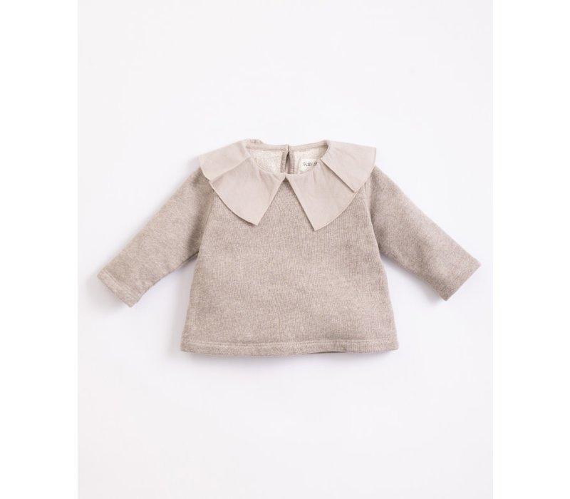 Play up - Fleece Sweater simplicity melange M052 PA02/2AJ10903