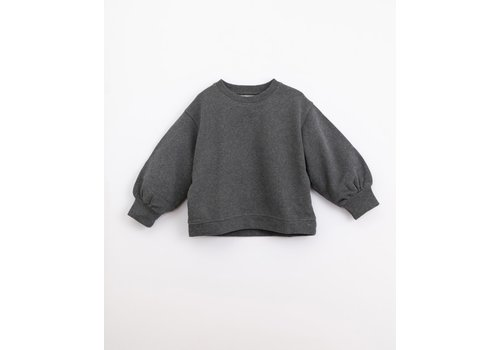 Play Up Play up - Fleece Sweater Frame melange m051 PA04/4AJ10903