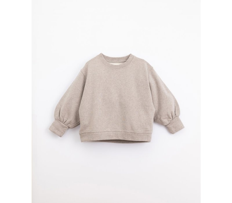 Play up - Fleece Sweater Simplicity melange m052 PA04/4AJ10903