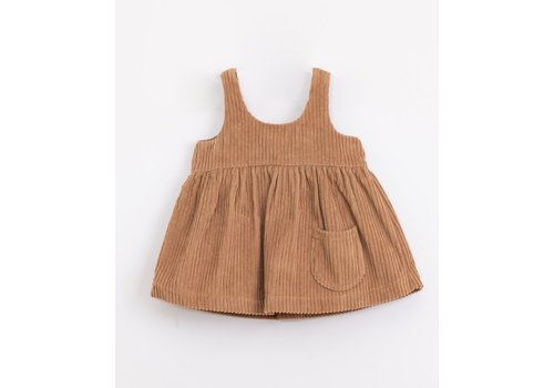 Play Up Play up - Corduroy Dress - Paper p8066 PA02/2AJ11457 - 12 month