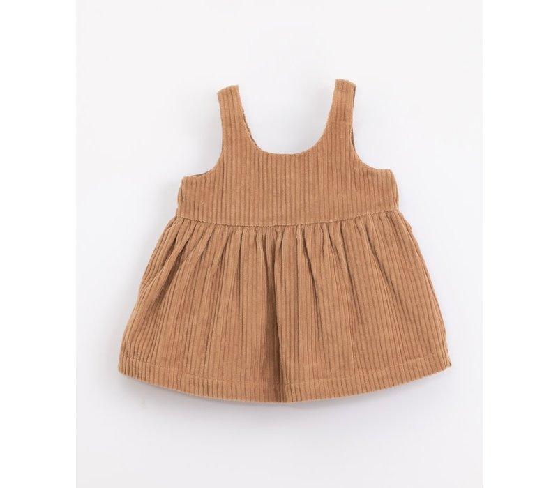 Play up - Corduroy Dress - Paper p8066 PA02/2AJ11457