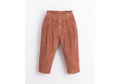 Play Up Play up - Corduroy Trousers - Sanguine p3052 PA04/4AJ11603