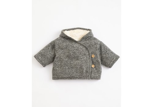 Play Up Play  up - Recycled Jersey Coat P9051 PA01/1AJ11401