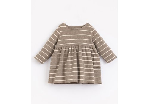 Play Up Play up -  Striped Jersey Dress - Frame r265g PA02/2AJ11452