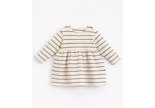 Play Up Play up -  Striped Jersey Dress - Miro r264w PA02/2AJ11452
