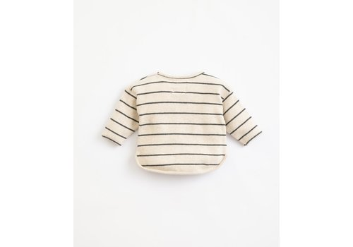 Play Up Play  up - Striped Jersey Sweater - miro R264W PA01/1AJ11353 - 12 month