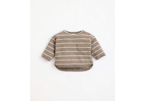 Play Up Play  up - Striped Jersey Sweater - Frame R265G PA01/1AJ11353 - 9 month
