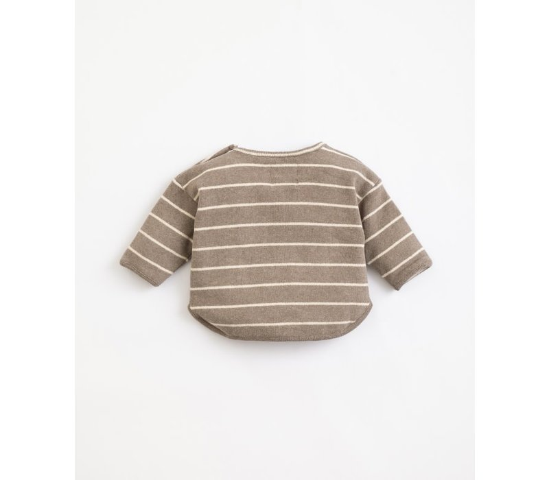 Play  up - Striped Jersey Sweater - Frame R265G PA01/1AJ11353 - 9 month