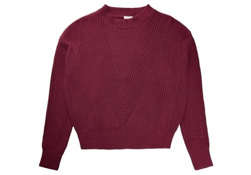 The New The New - Vally knit pullover apple butter