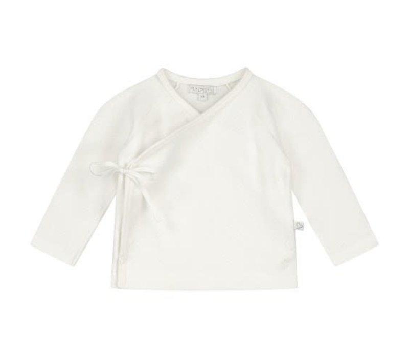 Mats & Merthe - Benthe wrap cardigan off white