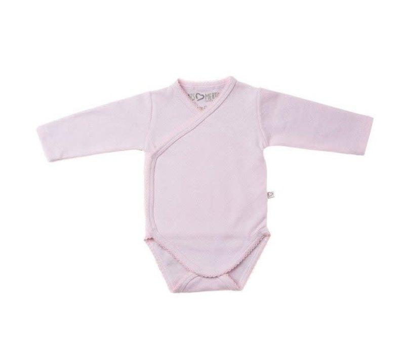 Mats&merthe - Body long sleeve roze