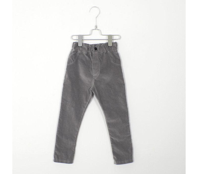 Lotiekids - 5 Pockets solid grey