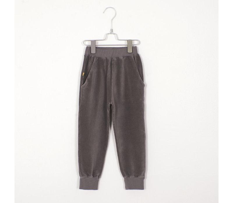 Lotiekids - Corduroy Pants solid grey