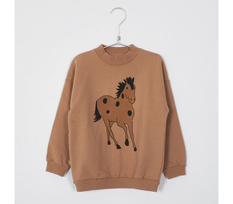 Lotiekids - Sweatshirt horse peach