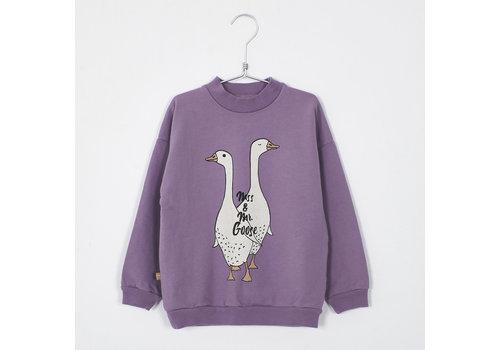 Lotiekids Lotiekids - Sweatshirt mss & mr. Goose lilac