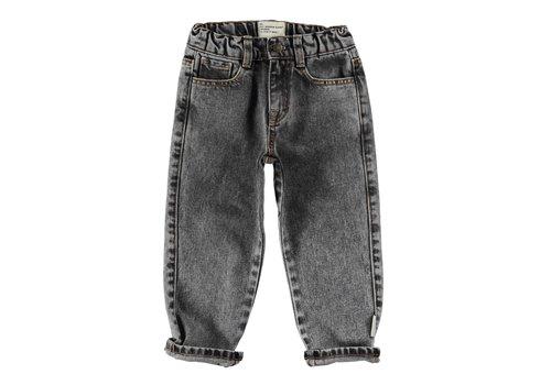 Piupiuchick Piupiuchick - Unisex denim trousers washed black denim
