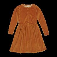 Blossom kids - Velvet dress Golden
