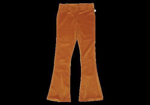 Blossom kids Blossom kids - Flared pants Golden - maat 116/122