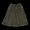 Blossom kids Blossom kids - Velvet Midi Skirt Sage