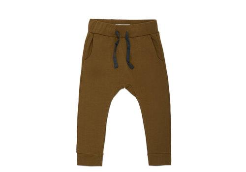Phil&Phae Phil & Phae - Drop-crotch sweat pants bronze olive
