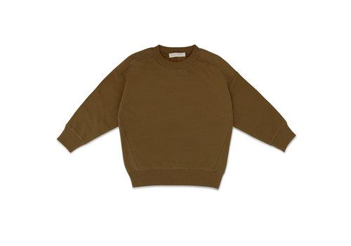 Phil&Phae Phil & Phae - Oversized sweater bronze olive