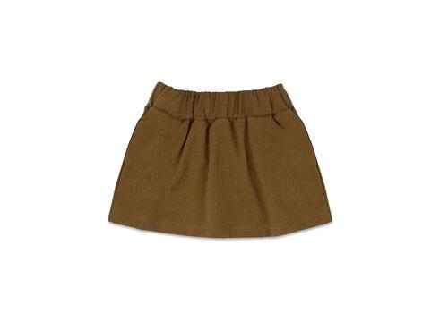 Phil&Phae Phil & Phae - Classic skirt bronze olive