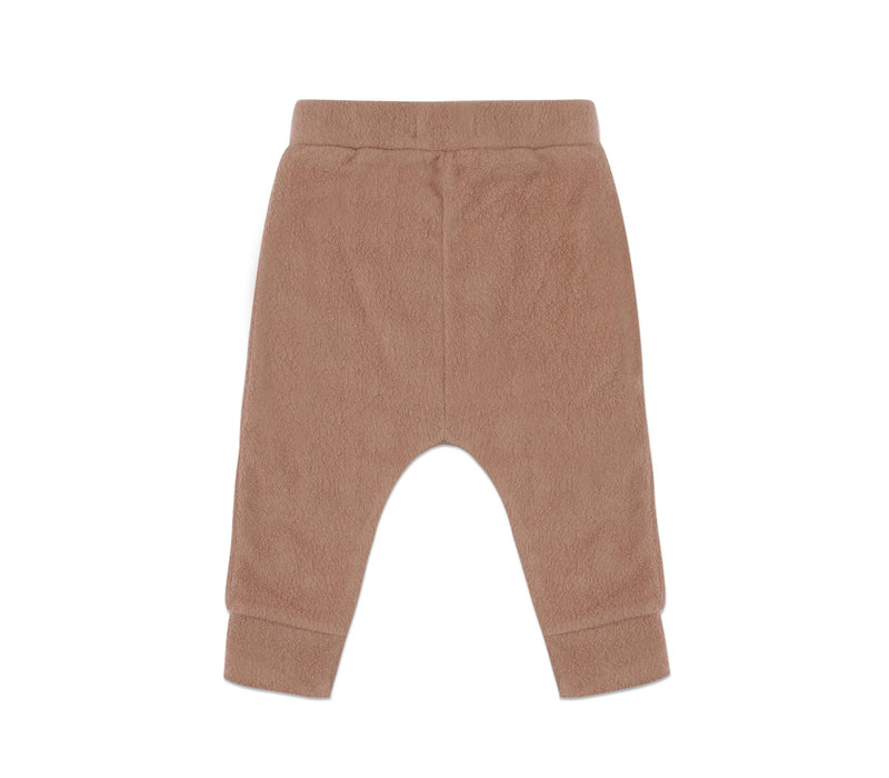 Phil & Phae - Teddy baby harem pants creamy mocha