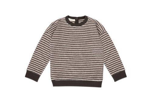 Phil&Phae Phil & Phae - Sweater loopy stripes graphite