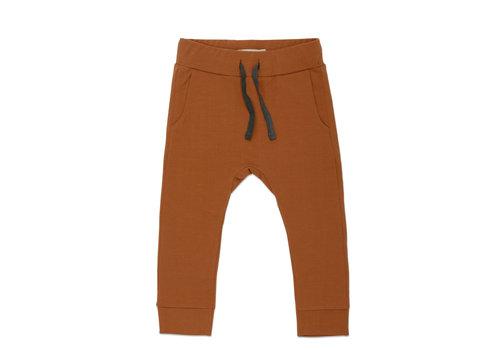 Phil&Phae Phil & Phae - Drop-crotch sweat pants Gingerbread