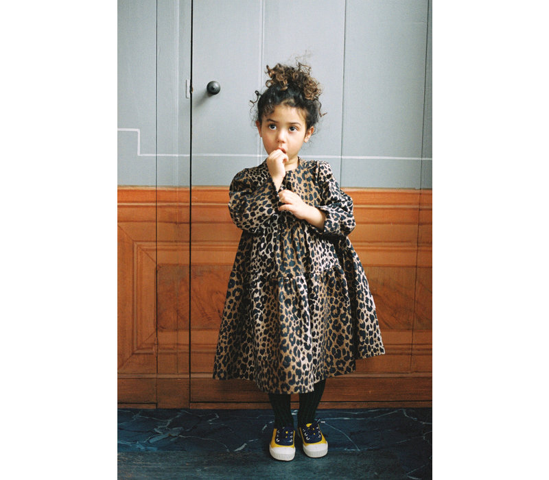 Maed for mini - Dress luxurious leopard